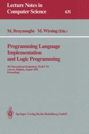 Programming Language Implementation and Logic Programming
