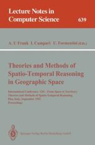 Theories and Methods of Spatio-Temporal Reasoning in Geographic Space