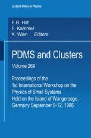 PDMS and Clusters