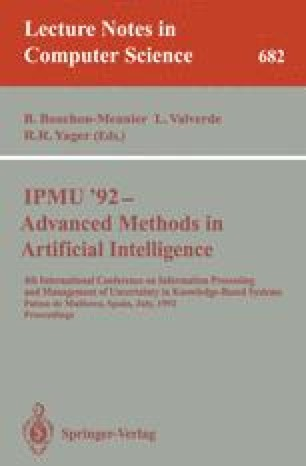 IPMU '92—Advanced Methods in Artificial Intelligence
