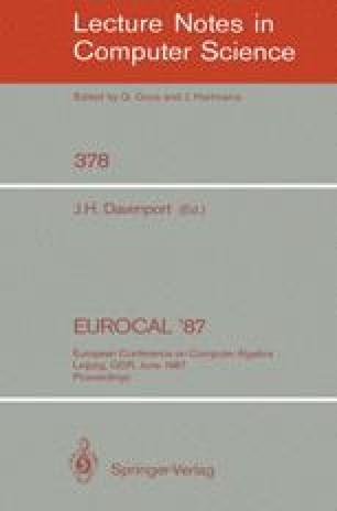 Eurocal '87