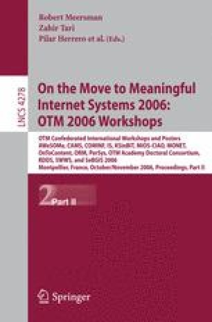 On the Move to Meaningful Internet Systems 2006: OTM 2006 Workshops