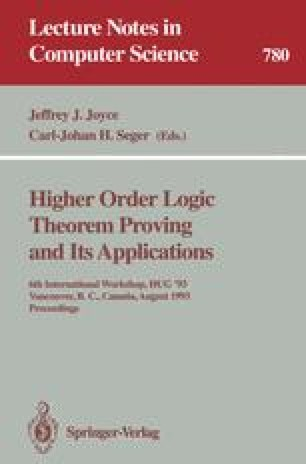 Higher Order Logic Theorem Proving and Its Applications