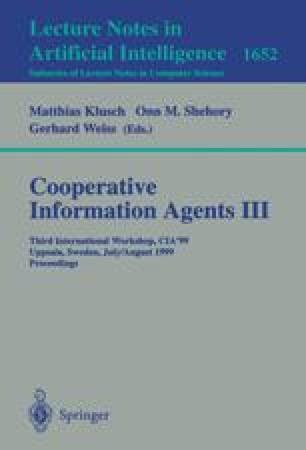 Cooperative Information Agents III