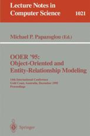 OOER '95: Object-Oriented and Entity-Relationship Modeling