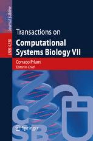 Transactions on Computational Systems Biology VII