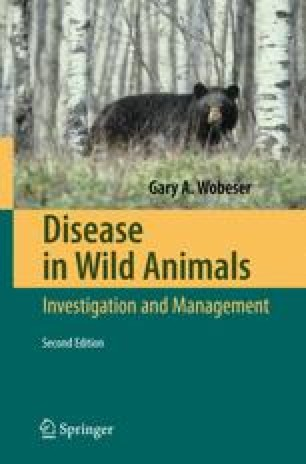 Disease in Wild Animals