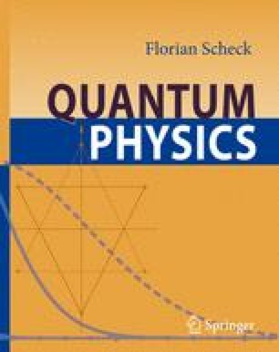 The Principles of Quantum Theory | SpringerLink