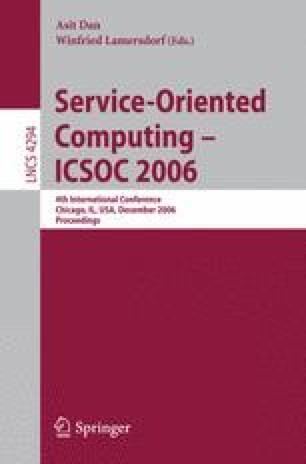 Service-Oriented Computing – ICSOC 2006