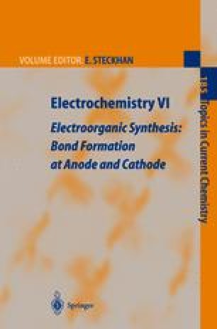 Novel Trends in Electroorganic Synthesis