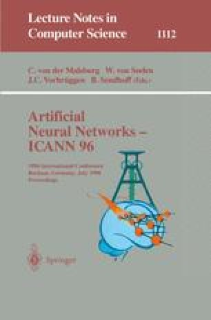 Artificial Neural Networks — ICANN 96