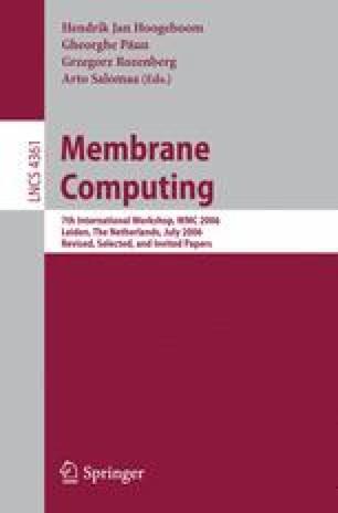 Membrane Computing