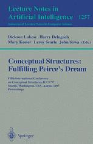 Conceptual Structures: Fulfilling Peirce's Dream