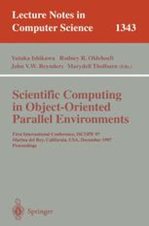 Overture: An object-oriented framework for solving partial