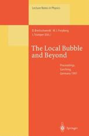 The Local Bubble and Beyond Lyman-Spitzer-Colloquium
