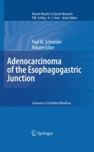Adenocarcinoma of the Esophagogastric Junction