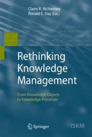 Sharing Expertise: Beyond Knowledge Management (MIT Press)