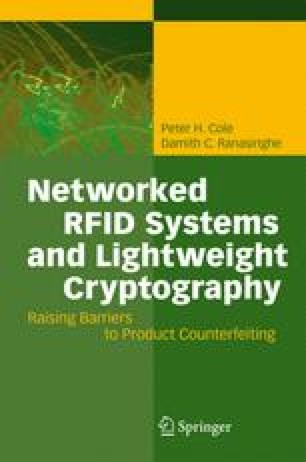 Lightweight Cryptography for Low Cost RFID | SpringerLink
