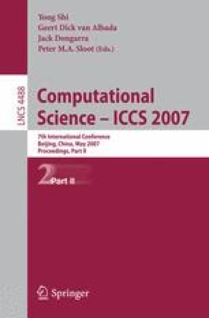 Computational Science – ICCS 2007