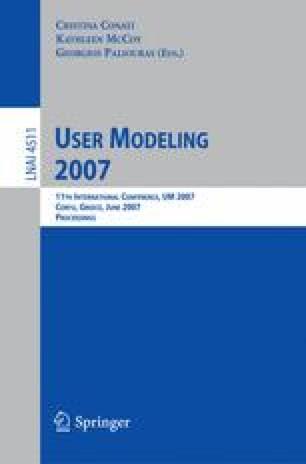 User Modeling 2007