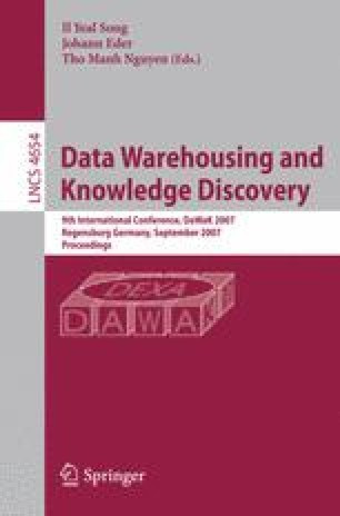 Data Warehousing and Knowledge Discovery