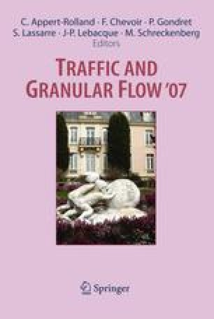 Traffic and Granular Flow '07