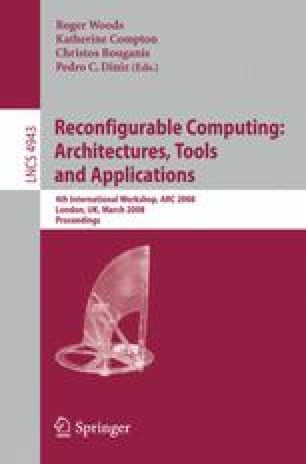 Reconfigurable Computing: Architectures, Tools and Applications