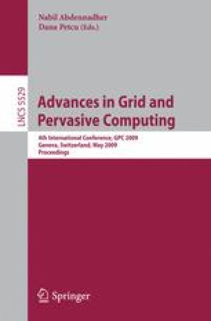 Advances in Grid and Pervasive Computing