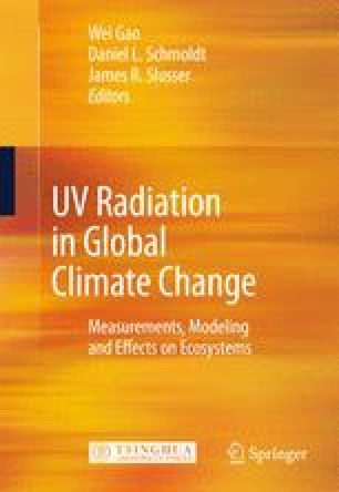 UV Radiation in Global Climate Change