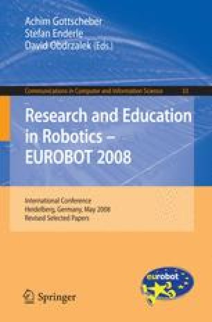 Research and Education in Robotics — EUROBOT 2008