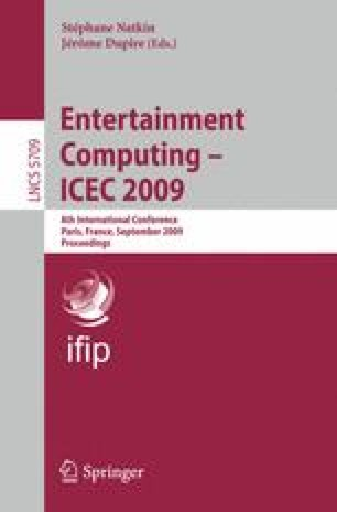 Entertainment Computing – ICEC 2009