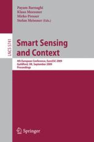 Smart Sensing and Context