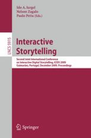 From Tabletop RPG to Interactive Storytelling: Definition of