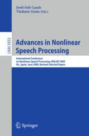 Robust Features for Speaker-Independent Speech Recognition Based on
