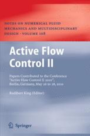 Active Flow Control II