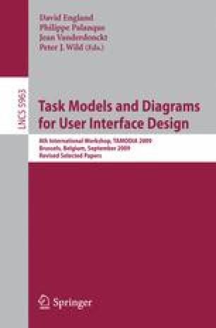 Models Of User Interface Design