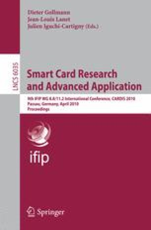 Smart Card Research and Advanced Application