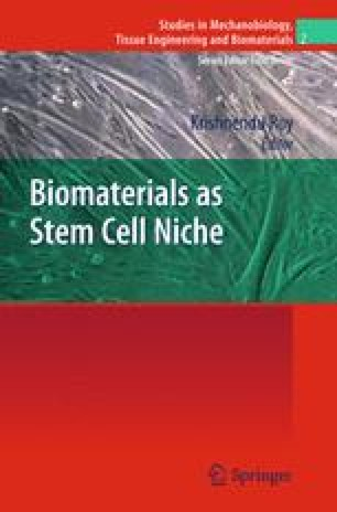 Biomaterials as Stem Cell Niche