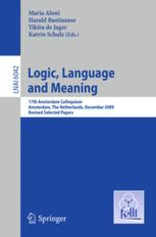 Logic, Language and Meaning