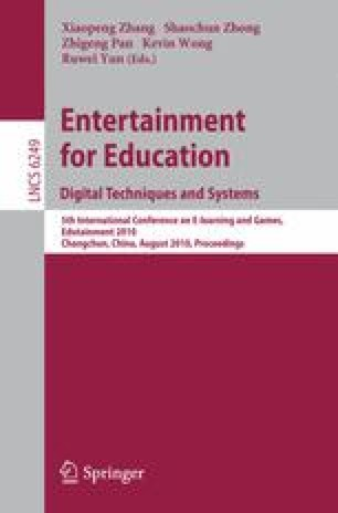 Entertainment for Education. Digital Techniques and Systems