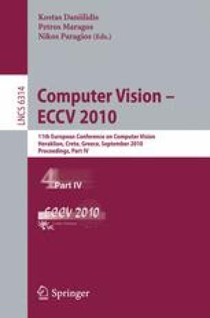 Computer Vision – ECCV 2010