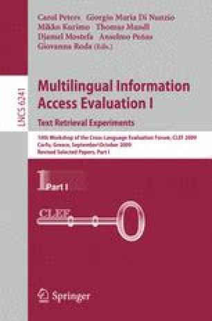 Multilingual Information Access Evaluation I. Text Retrieval Experiments