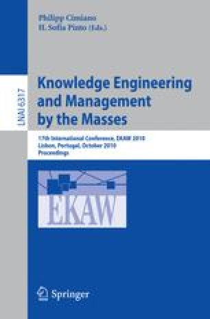 Knowledge Engineering and Management by the Masses