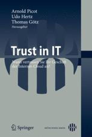 Trust in IT