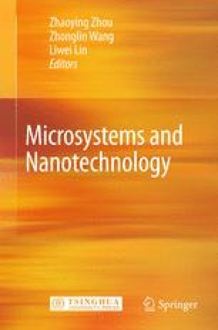 Microsystems And Nanotechnology Springerlink
