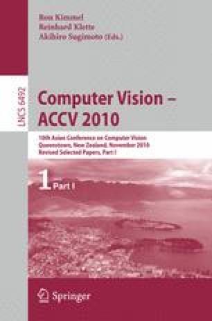 Computer Vision – ACCV 2010