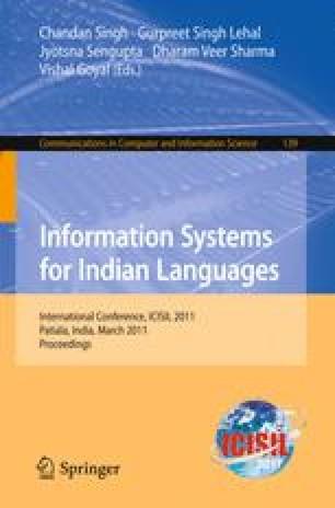 Hindi to Punjabi Machine Translation System | SpringerLink