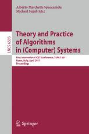 Theory and Practice of Algorithms in (Computer) Systems