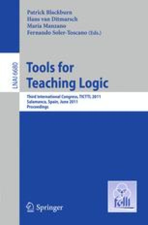 Tools for Teaching Logic