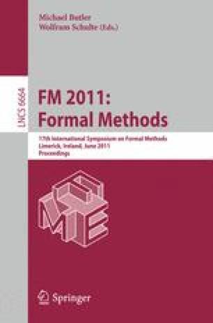 FM 2011: Formal Methods